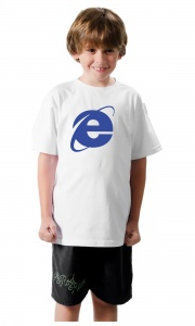 Camiseta Internet Explorer