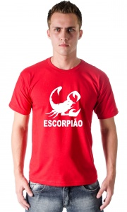 Camiseta Escorpiao