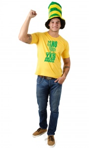 Camiseta Brasil - No Zebra Yes Hexa