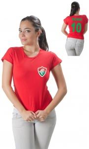 a7e4fb8a98d9c CAMISETA FLUMINENSE PERSONALIZADA COM NOME E NÚMERO Código do produto   Camiseta Personalizada do Fluminense Com Nome e Número