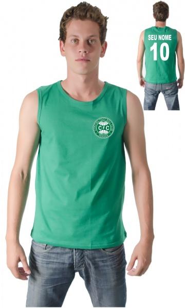 CAMISETA CORITIBA PERSONALIZADA COM SEU NOME E NÚMERO Código do produto   Camiseta Personalizada do Coritiba Com Seu Nome e Número bb92ead21c213