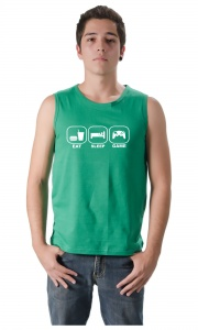 Camiseta Comer, Dormi, Video Game