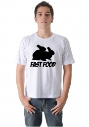 Camiseta Rabbit Fast Food