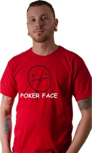 Camiseta Meme Poker Face