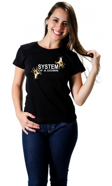 CAMISETA SYSTEM OF A DOWN Código do produto  Camiseta System of a Down 41b2482b851e5
