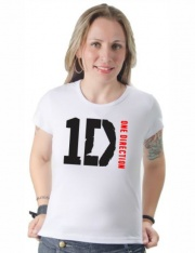 Camiseta One Direction 1D