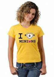 Camiseta I love Minions