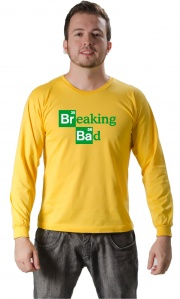 Camiseta Breaking Bad Logo