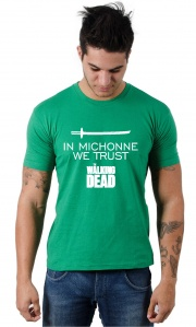 Camiseta Michonne The Walking Dead TWD