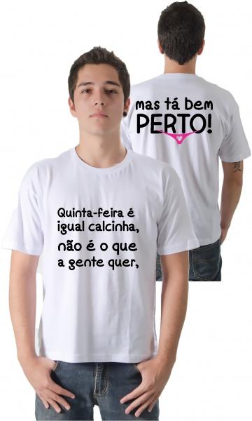 5d5fe231bb CAMISETA - QUINTA-FEIRA Código do produto  Camiseta - Quinta-feira