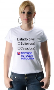 Camiseta - Estado Civil