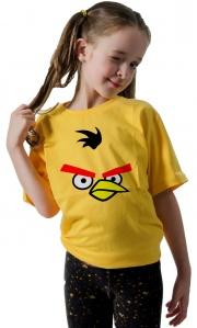 Camiseta - Angry Birds Chuck