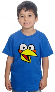 Camiseta - Angry Birds The Blues