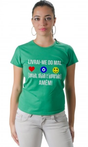 Camiseta - Livrai-me do mal
