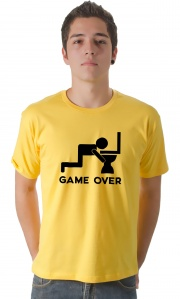 Camiseta - Game Over Privada