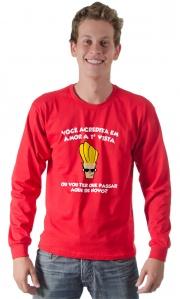Camiseta - Amor a primeira vista