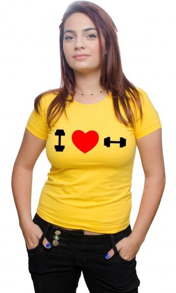 72fce0682e CAMISETA - EU AMO MALHAR HALTER Código do produto  Camiseta - Eu amo malhar  Halter