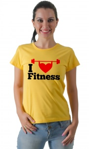 Camiseta - I love Fitness