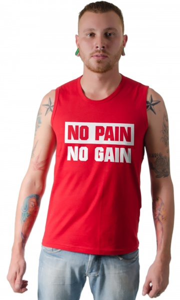 6f172277e9 CAMISETA ACADEMIA - NO PAIN NO GAIN Código do produto  Camiseta Fitness - No  pain no gain