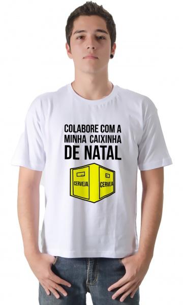 32536c1e6c CAMISETA CAIXINHA DE NATAL Código do produto  Camiseta Caixinha de Natal