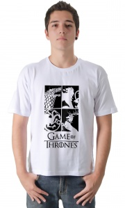 Camiseta Game of Thrones Reinos