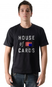 Camiseta - House of Cards