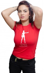 Camiseta Team Valor Candela