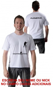 Camiseta Counter Strike 2 Personalizada