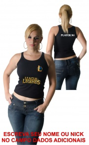 Camiseta League of Legends Personalizada