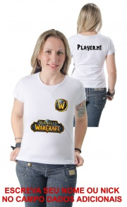 Camiseta World of Warcraft Personalizada