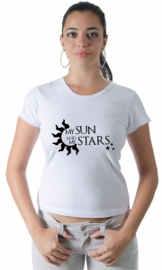 Camiseta My sun and my stars (Game of Thrones)