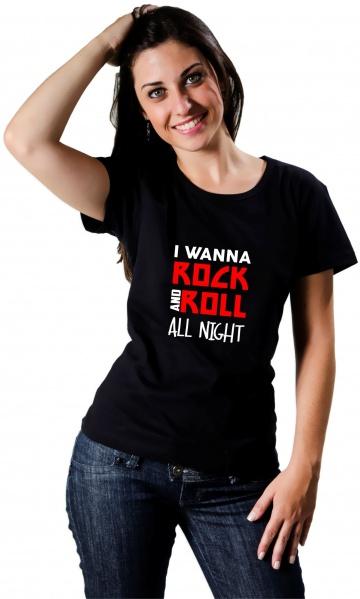 CAMISETA ROCK AND ROLL ALL NIGHT Código do produto  Camiseta Rock and Roll  All Night 12ae9775ebc