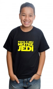 Camiseta Papai Mestre Jedi (Star Wars)