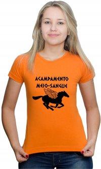 Camiseta Acampamento Meio Sangue Cavalo