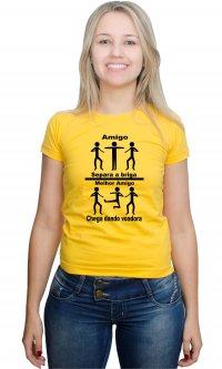 Camiseta Amigos, Melhores Amigos