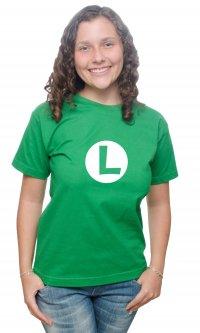 Camiseta Logo Luigi