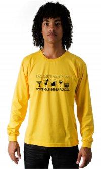 Camiseta Bebeu pouco