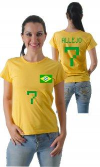 Camiseta Brasil Allejo 7