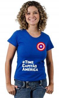 Camiseta Time Capitão América
