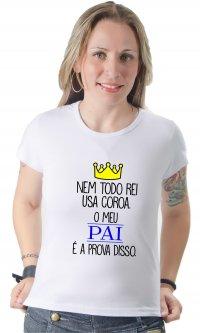 Camiseta Coroa Pai
