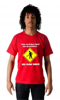 Camiseta Obra da Prefeitura