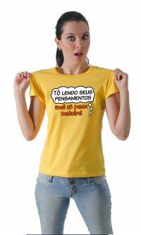 Camiseta Pensamentos