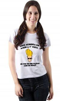 Camiseta Amor a primeira vista