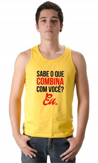 Camiseta Combina com você