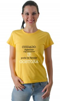 Camiseta Agachar regularmente