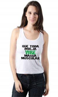 Camiseta Inveja massa muscular