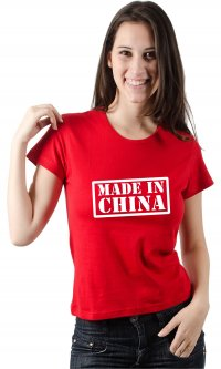 Camiseta Made in China
