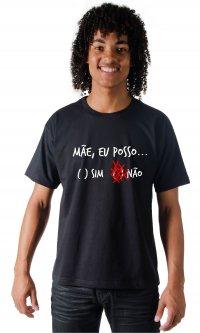 Camiseta Mãe eu posso