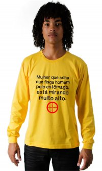 Camiseta Mirando Alto