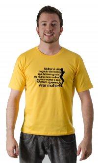 Camiseta Mulher é tão bom